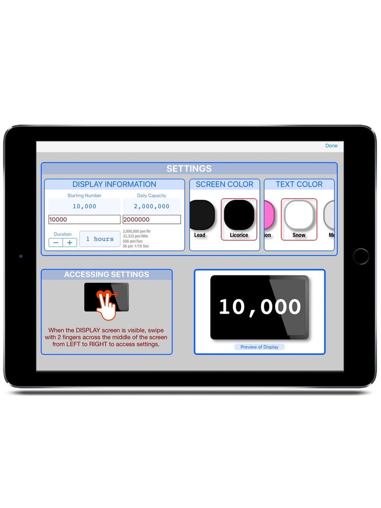 ExhibitCounter iPad  Screenshot 3