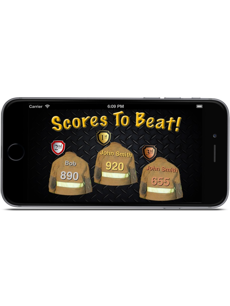 Firefighter Knowledge Challenge iPhone & iPad  Screenshot 2