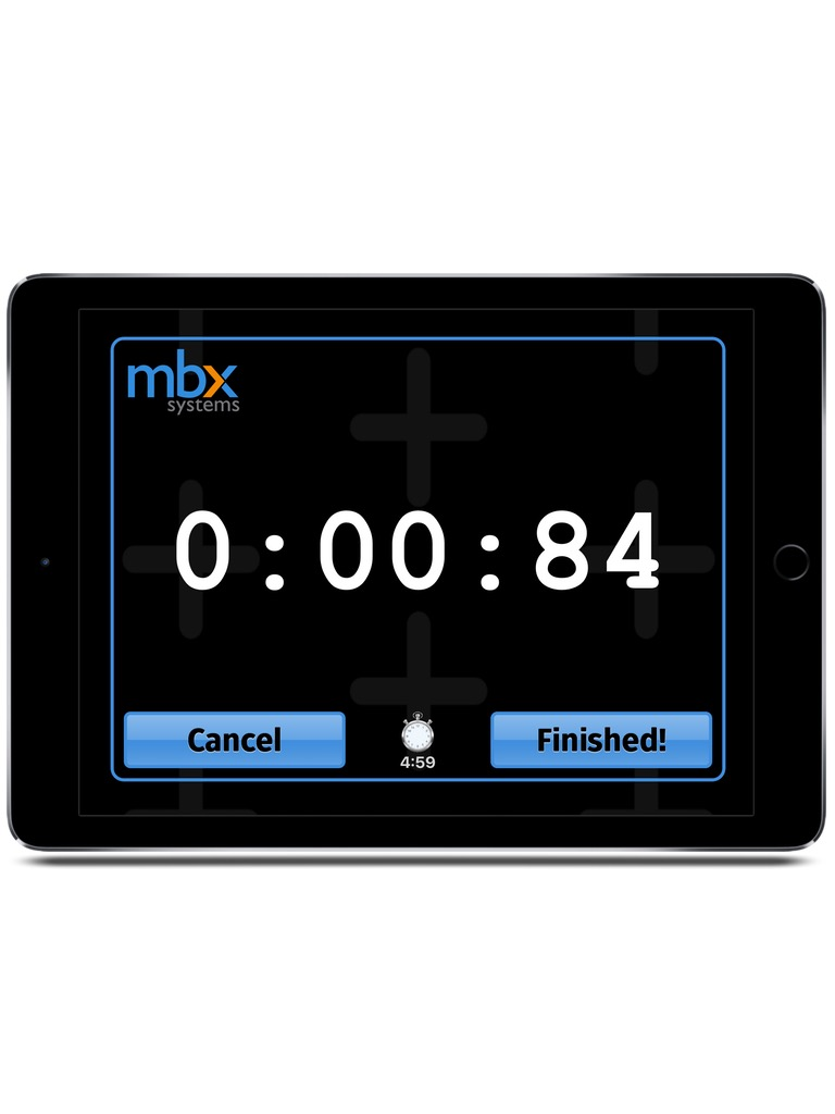 MBX Leaderboard Interactive Game Timer iPad  Screenshot 3
