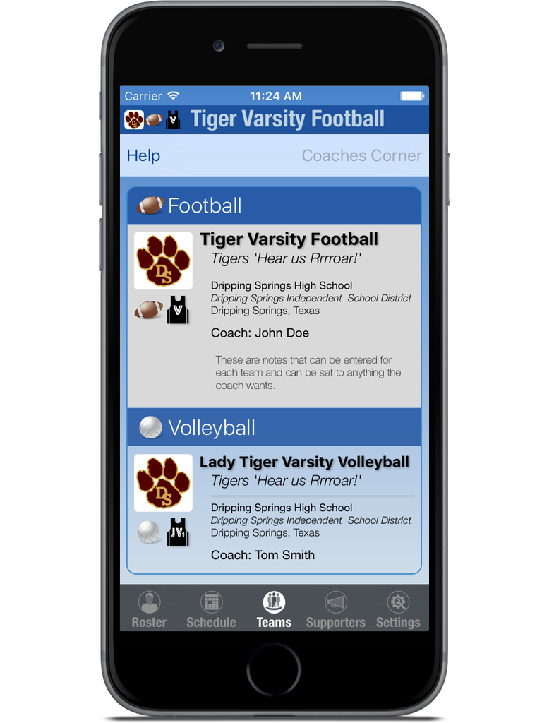 MyTeam Sports iPhone & iPad  Screenshot 5