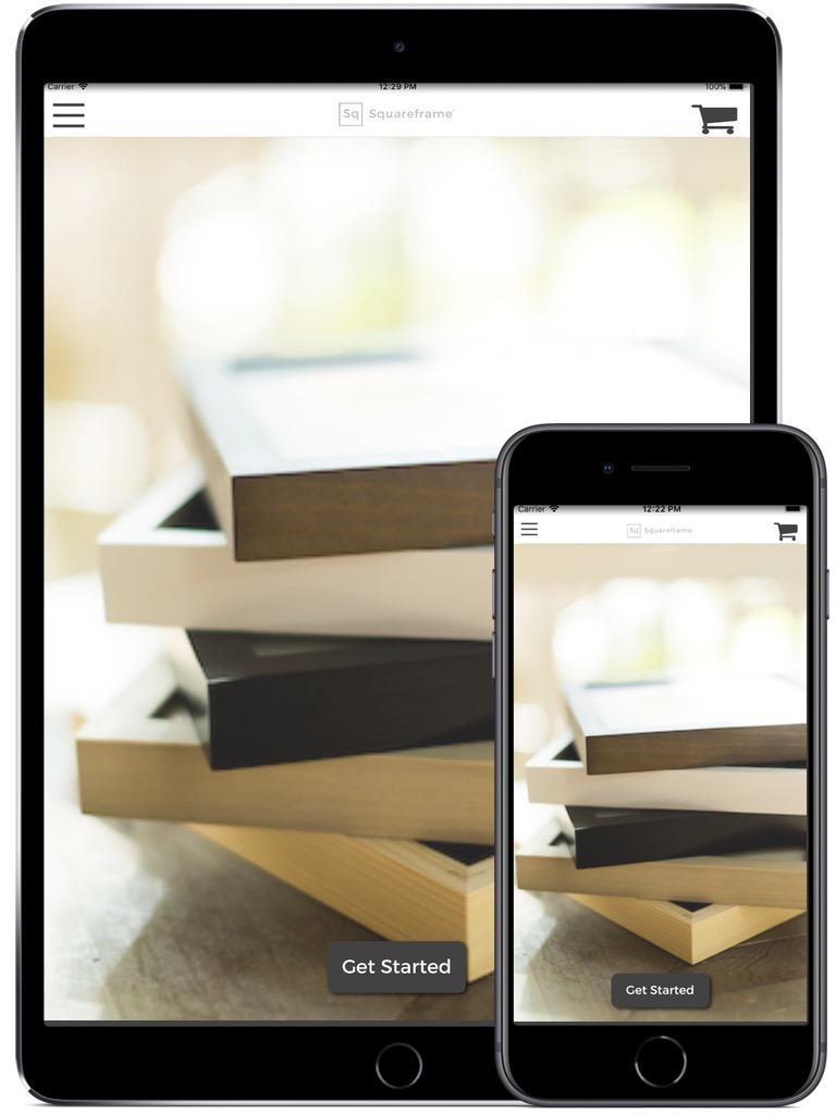 Squareframe iPhone & iPad  Screenshot 1