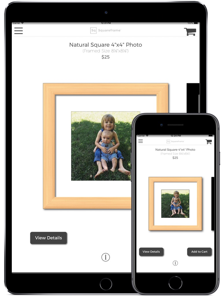 Squareframe iPhone & iPad  Screenshot 2