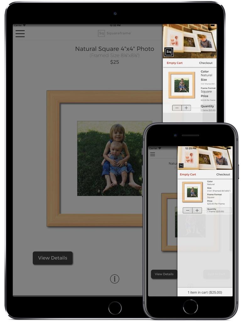 Squareframe iPhone & iPad  Screenshot 3