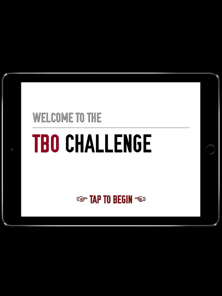 TBO Challenge Trivia App iPad  Screenshot 1