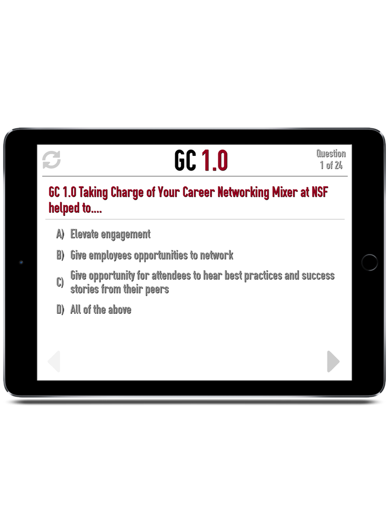 TBO Challenge Trivia App iPad  Screenshot 2