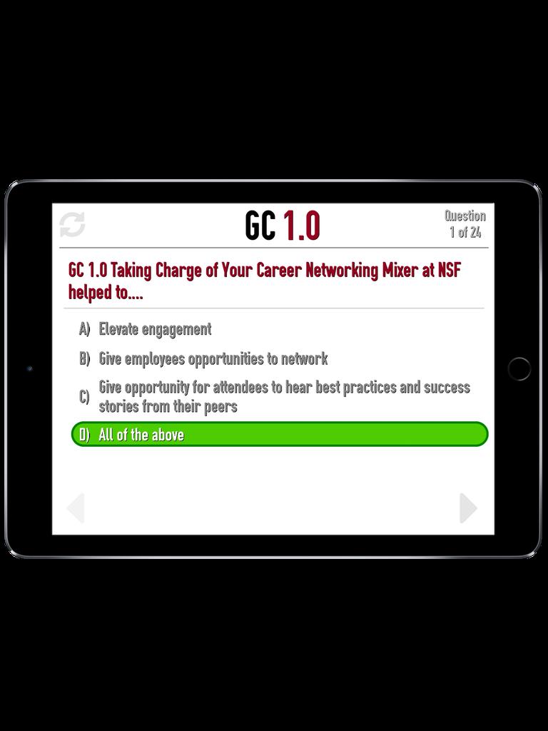 TBO Challenge Trivia App iPad  Screenshot 3