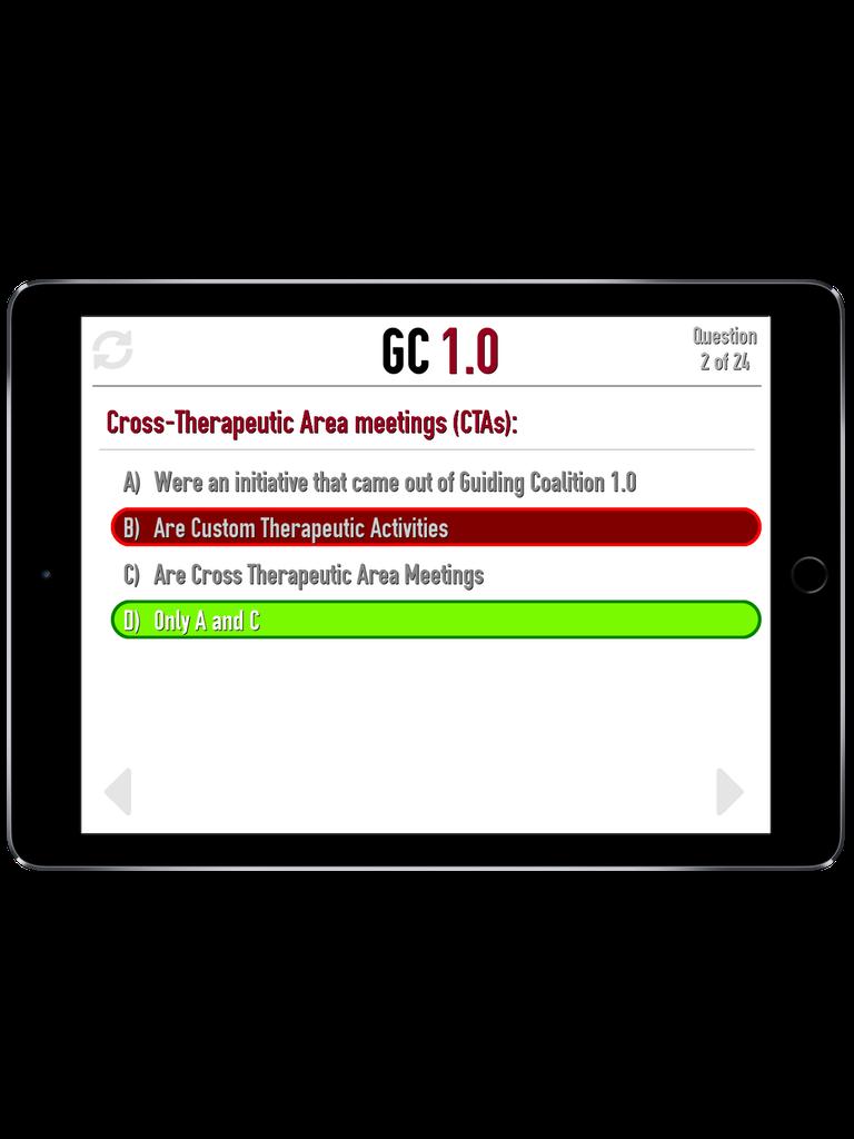 TBO Challenge Trivia App iPad  Screenshot 4