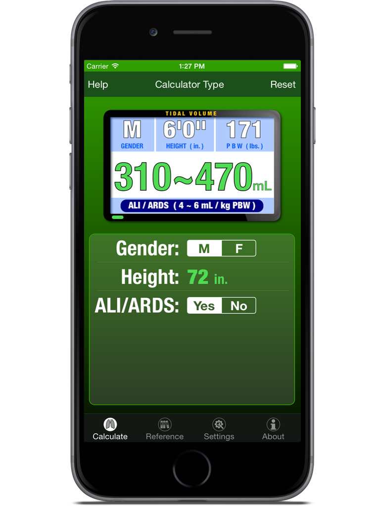 The Ventilator App iPhone & iPad  Screenshot 1