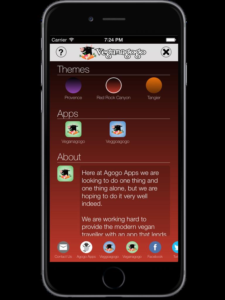 Veganagogo iPhone & iPod Touch  Screenshot 5